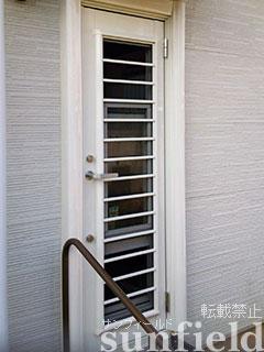 リシェント勝手口ドア施工事例