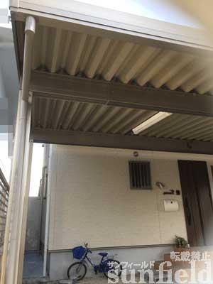 テリオスポートⅢ900 角柱 3台用 4本柱